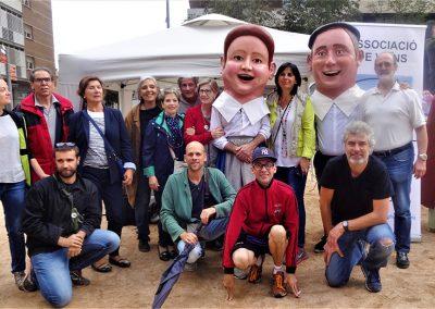 Els capgrossos del barri - Festa Major 2017