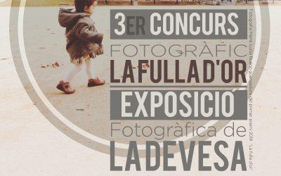 """3r CONCURS FOTOGRÀFIC """"LA FULLA D'OR"""""""