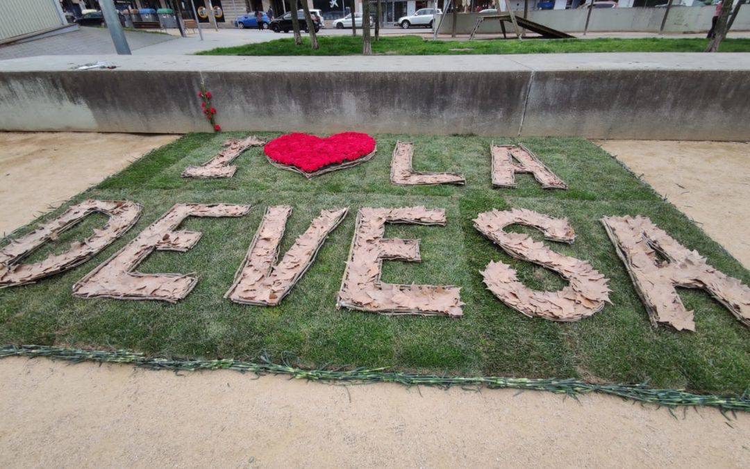 """GIRONA , TEMPS DE FLORS 2021 "" ""I LOVE LA DEVESA"""